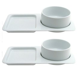 See those plates (first spotted at Mighty Goods)? It\u0027s a special set from Target to hold a bowl of soup and a sandwich (because nothing goes better with ...  sc 1 st  Three Dog Kitchen & Fancy plates for half the price   Three Dog Kitchen